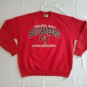 Vtg 1998 Tampa Bay Buccaneers Football Sweatshirt